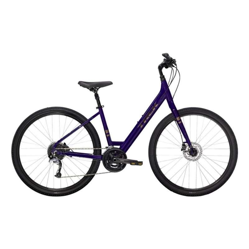 Trek Verve 3 Disc Lowstep Hybrid Bike