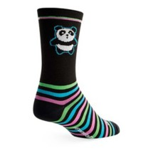 SockGuy Panda Power Biking Sock