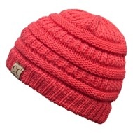 Youth Girls' CC Classic Solid Beanie