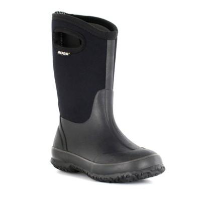 Grade School Bogs Classic High Handle Boots
