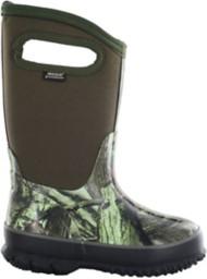 Grade School Bogs Classic Camo Boots
