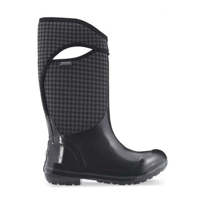 Women's Bogs Plimsoll Houndstooth Tall Boots