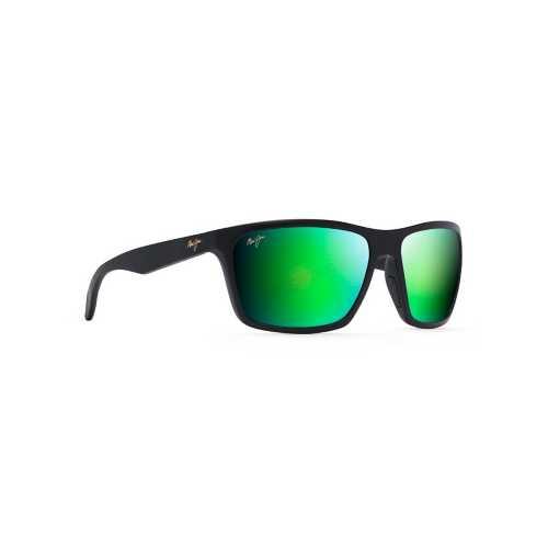 Matte Black/Maui Green