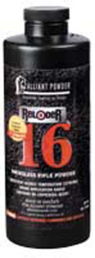 Alliant Reloder 16 Smokeless Rifle Reloading Powder