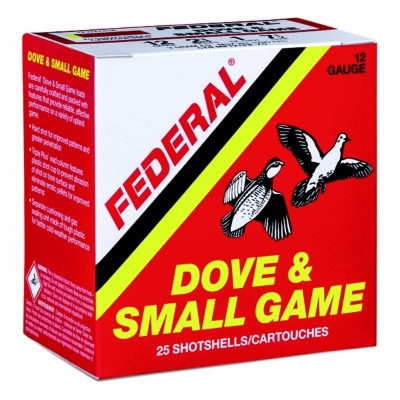 "Federal Game Load 12ga 2-3/4"" Dove and Small Game Shotshells"