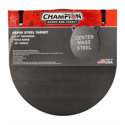 Champion Target AR500 Gong Steel Target