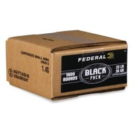 Federal Premium 22 LR Black Pack 1600 Rounds