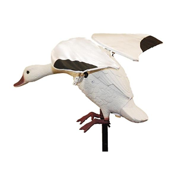 Lucky Duck Flapper Snow Goose Decoy