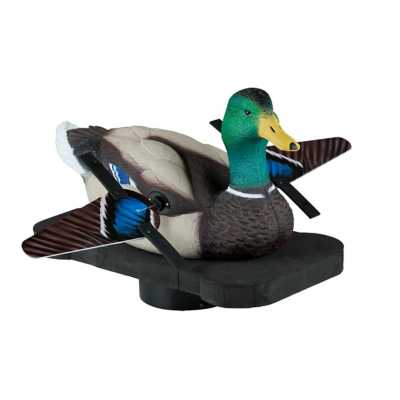 Lucky Duck Splasher Floating Spinner Decoy