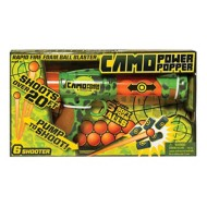 Hog Wild Camo Six Shooter Power Popper Gun