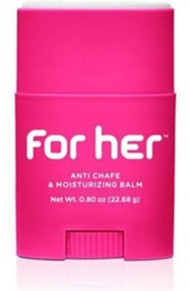 Bodyglide For Her Anti-Chafing and Mousturizing Balm .80 oz.
