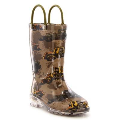 Preschool Boys' Washington Shoe Company Buzy Bulldozer Rain Boots