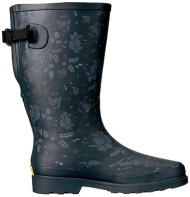 Women's Washington Shoe Company Floral Wide Calf Rain Boots