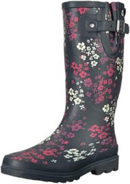 Women's Washington Shoe Company Florentina Printed Tall Waterproof Rain Boots