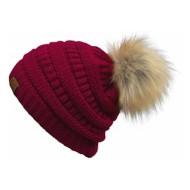 Women's C.C Fur Pom Beanie