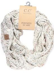 Women's C.C Flecked Infinity Scarf