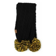 Women's CC Gameday Pom Scarf