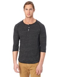 Men's Alternative Apparel 3/4 Sleeve Raglan Henley