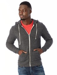 Men's Alternative Apparel Rocky Eco Fleece Zip Hoodie