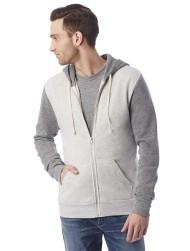 Men's Alternative Apparel Rocky Color Blocked Zip Hoodie