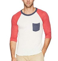 Men's Alternative Apparel Baseball Pocket Shirt