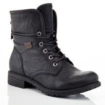 Women's Eddie Marc Erin Combat Boots