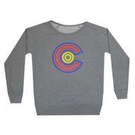 Women's Aksels Colorado Maze Crew Neck Sweatshirt