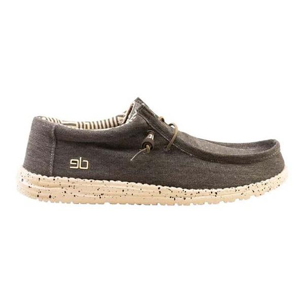 ad4003c572666 ... Men's Hey Dude Wally Stretch Shoes Tap to Zoom; Steppa Tap to Zoom;  Chocolate