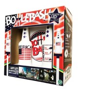 Poleish Sports Bottle Bash America Stars and Stripes Glow in the Dark