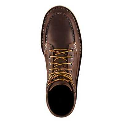 """Men's Danner Bull Run Moc Toe 6"""" Brown ST Boot"""