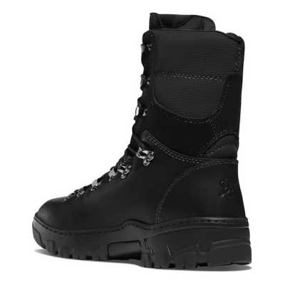 """Men's Danner Wildland Tactical Firefighter 8"""" Black Smooth-Out Boots"""