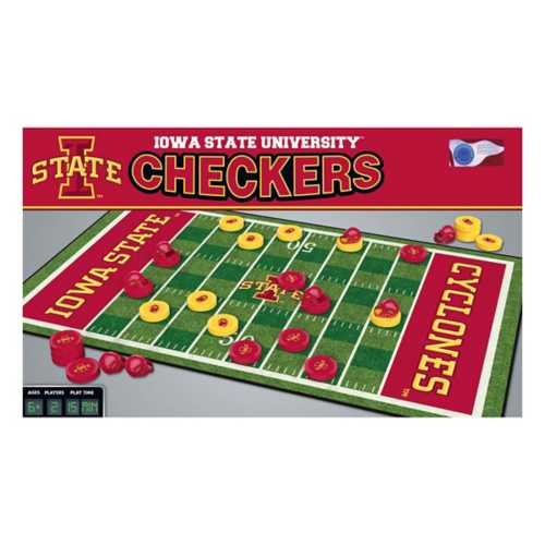 Masterpieces Puzzle Co. Iowa State Cyclones Checkers