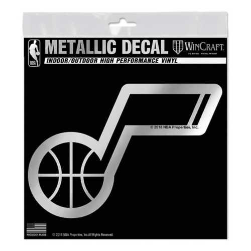 "Wincraft Utah Jazz 6""x6"" Decal"