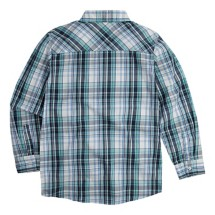 Youth Boys' Levi's Sunset Pocket Plaid Long Sleeve Collared Shirt