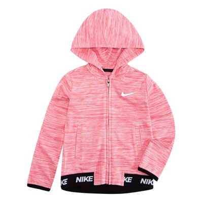 58d2dddb76 Toddler Girls' Nike Dri Fit Sport Essentials Peplum Hoodie   SCHEELS.com