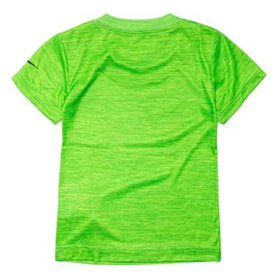 4854b01a Toddler Boys' Nike Dri-FIT Heathered Swoosh Logo Graphic Short Sleeve T- Shirt
