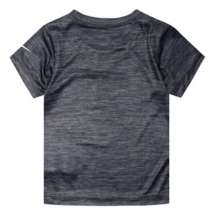 1fa100fa ... Toddler Boys' Nike Dri-FIT Heathered Swoosh Logo Graphic Short Sleeve  T-Shirt