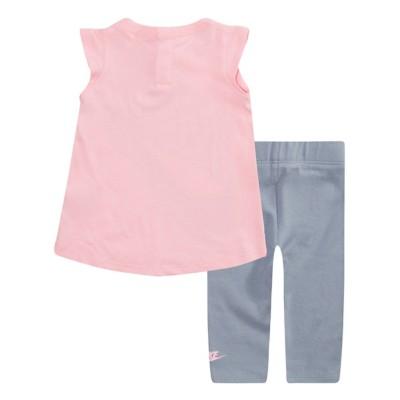 bf43f541c01c5 Infant Girls  Nike Sportswear Polka Dotted Tunic and Legging 2-Piece Set