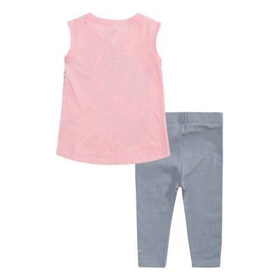 977f13b3608b6 Infant Girls  Nike Sportswear Polka Dot Tunic and Legging 2-Piece ...