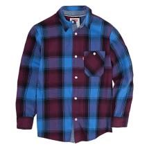Grade School Boys' Levi's Woven Long Sleeve Collar Shirt
