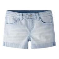 Grade School Girls' Levi's Contrast Stitch Shorty Short
