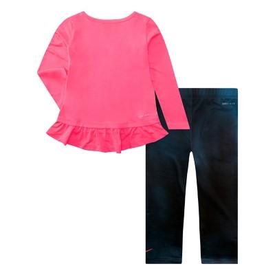 404ccebb9abf Infant Girls  Nike Dri Fit Peplum Tunic and Unicorn Legging Set ...