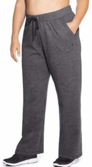 Women's Champion Plus Size Fleece Open Bottom Pants