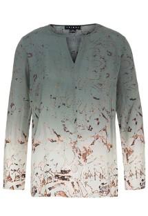 Women's Tribal Keyhole Long Sleeve Shirt