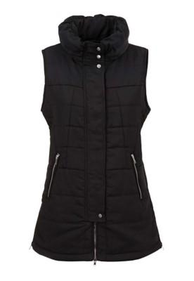 Women's Tribal Zipper Puffer Vest