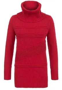Women's Tribal Mixed Stitch Sweater