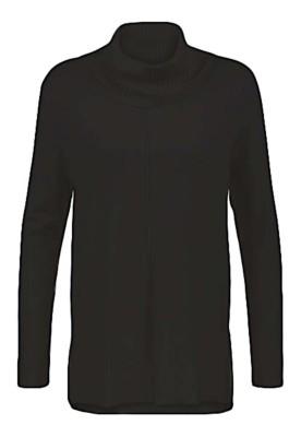 Women's Tribal Cowl Neck Tunic Sweater