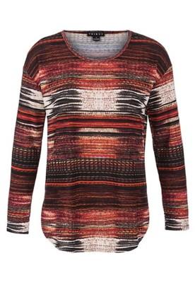 Women's Tribal Scoop Neck Long Sleeve Shirt