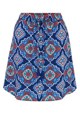 Women's Tribal Pull-On Skirt