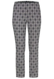 Women's Tribal Printed Pull-On Ankle Pant